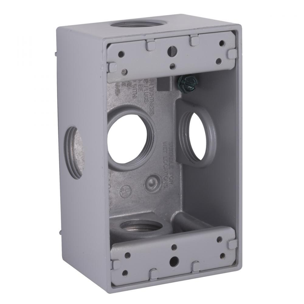 Hubbell-Raco 5332-0 BELL Weatherproof Outlet Box