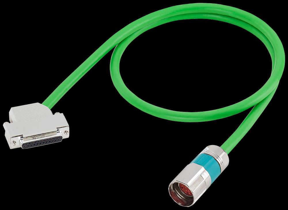 Siemens 6FX50022EQ101DA0 Motion-Connect 500 Signal Cable