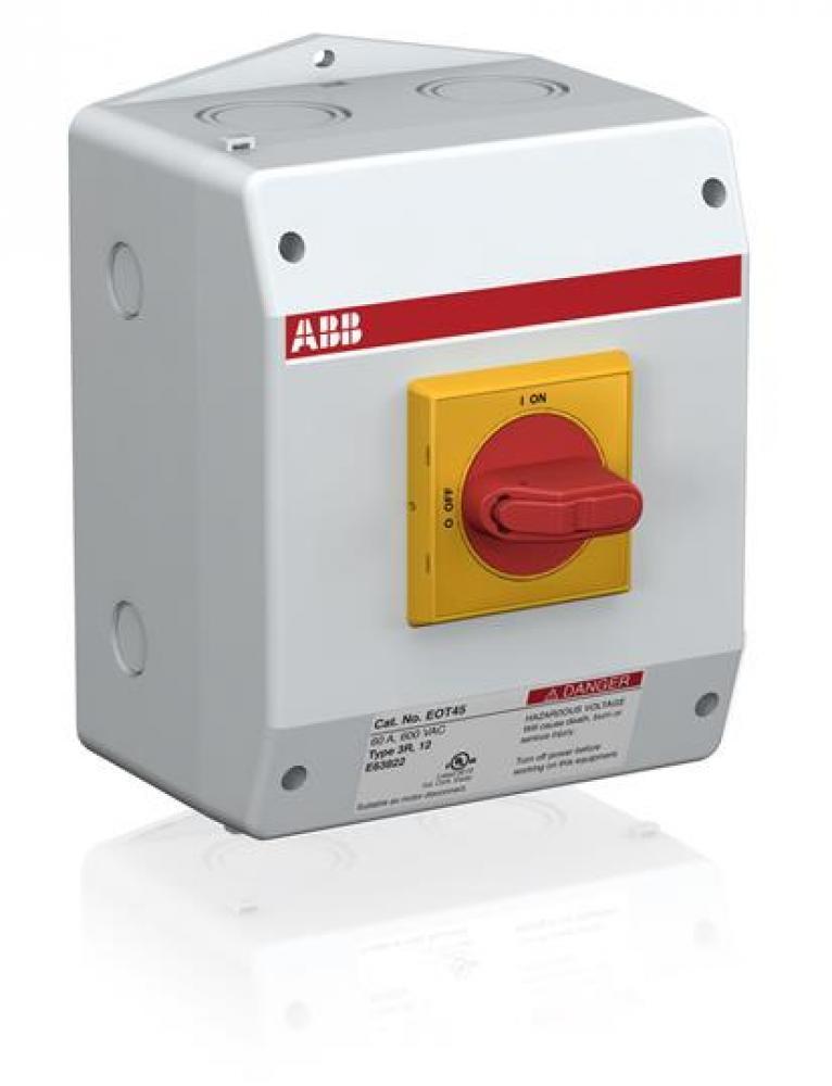 ABB EOT45U3P3-1S1 Enclosed Disconnect Switch