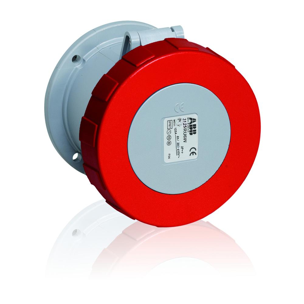 ABB ABB460R7W Pin and Sleeve Receptacle
