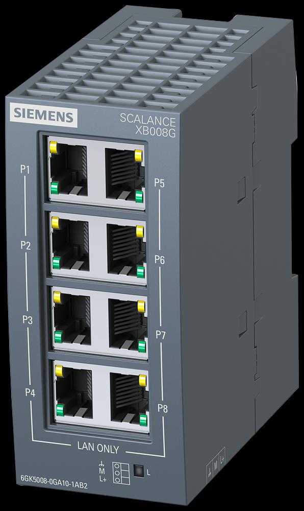 Siemens 6GK50080GA101AB2 SCALANCE Ethernet Switch