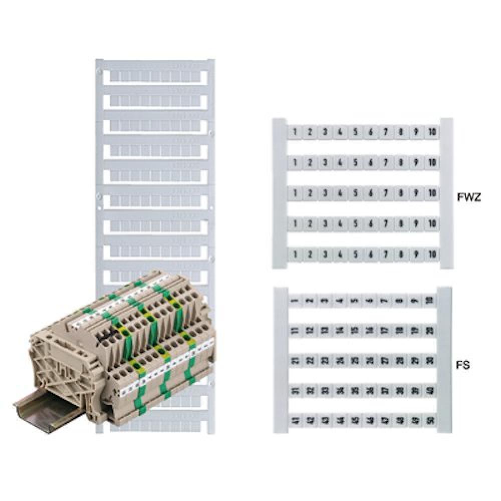 Weidmuller 0468760001 Wire Marker Card