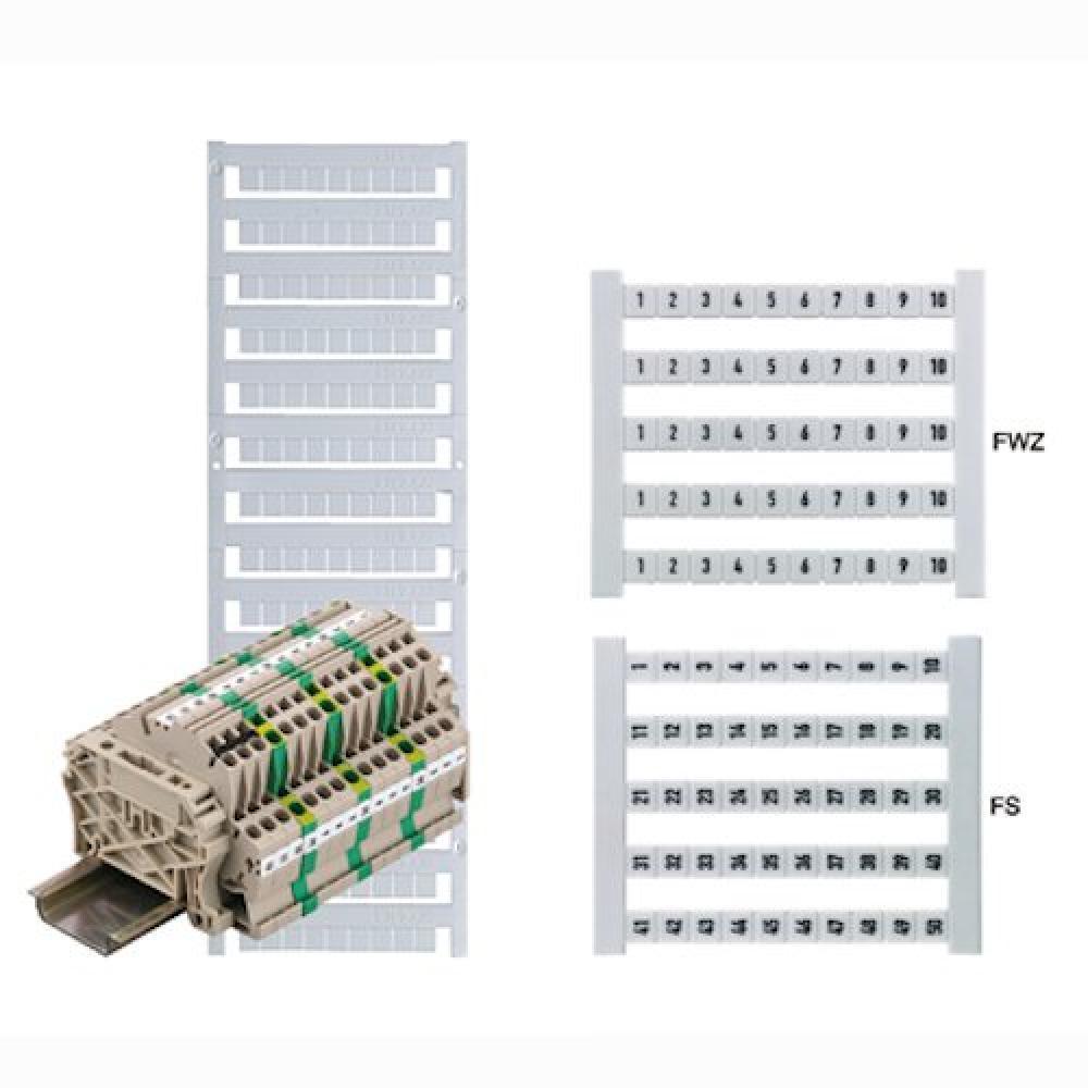 Weidmuller 0468760051 Wire Marker Card