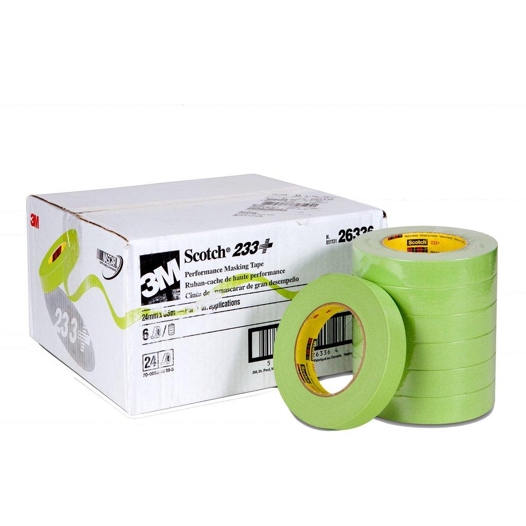 3M 233+24MMX55M Masking Tape