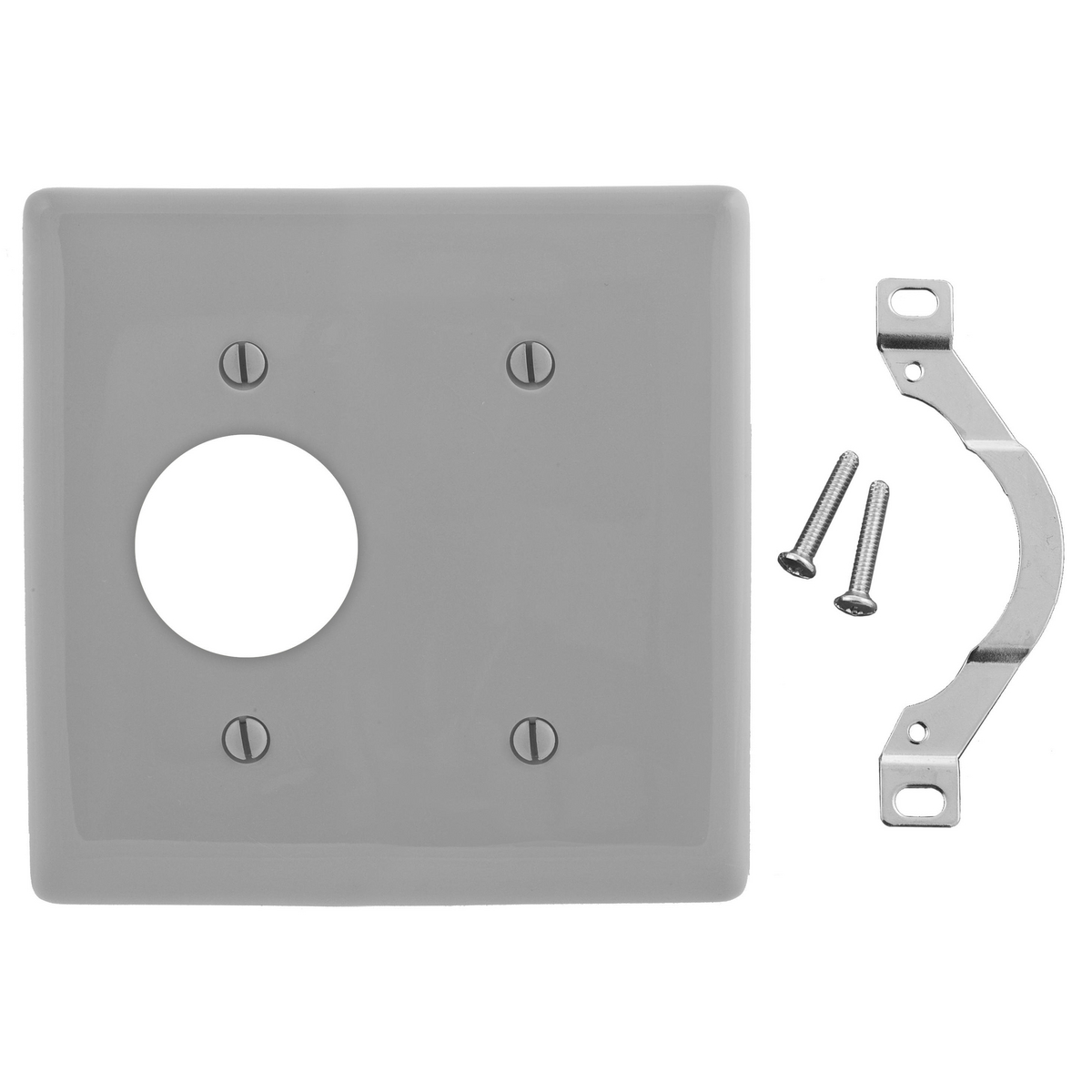 Hubbell NP147GY Combination Wallplate
